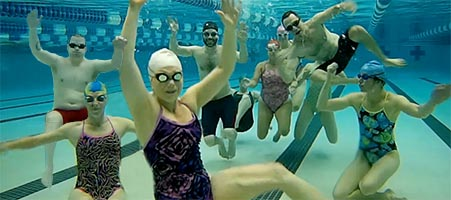 underwater swimmers